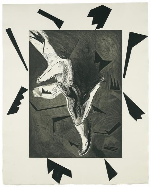 Mimmo Paladino, Il Pattinatore, 1983/1984