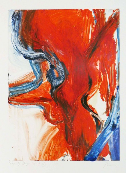 Rita Ackermann, Fire By Days 8/III, 2011