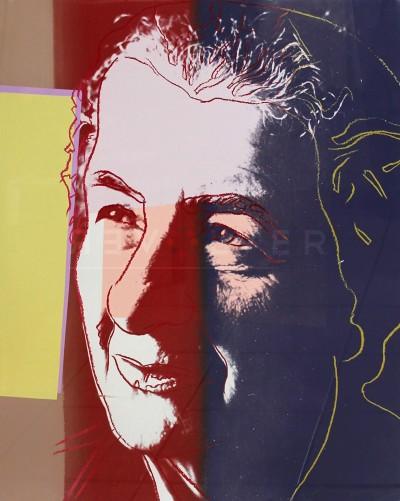 "Golda Meir (FS II.233), from the Portfolio ""Ten Portraits of Jews of the Twentieth Century"" by Andy Warhol"