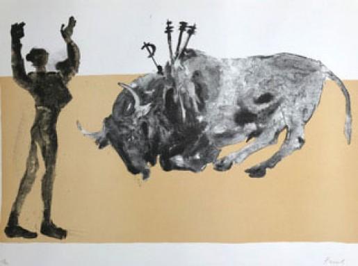 Elisabeth Frink, Corrida Five, 1973