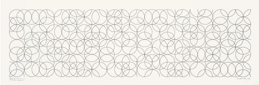 Bridget Riley, Composition with Circles 2, 2001