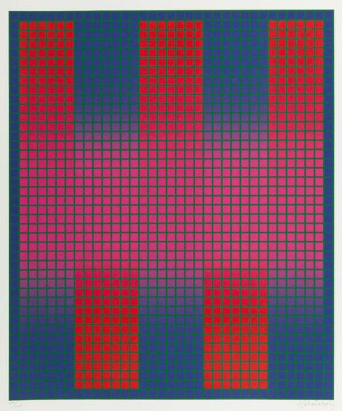 Julian Stanczak, Trespass, 1979