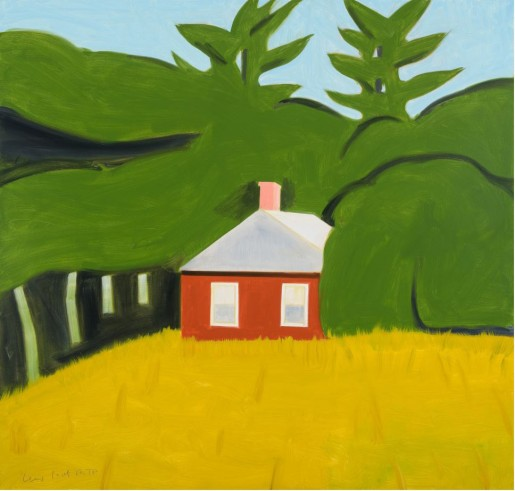 Alex Katz, Red House, 2016