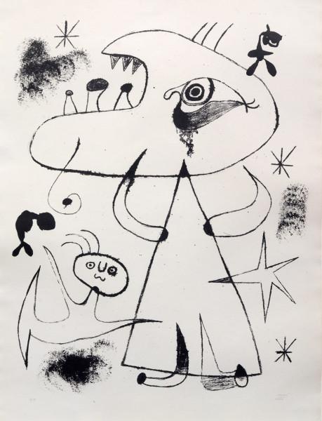 Joan Miró, Barcelona: XXV, 1958