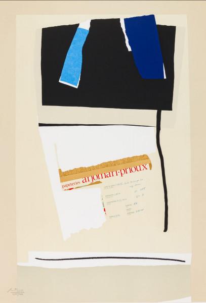 Robert Motherwell, America - La France Variations VI, 1984