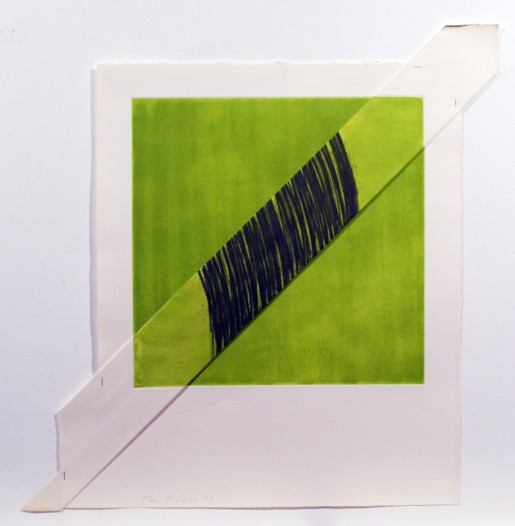 Richard Smith, GREEN, 1977