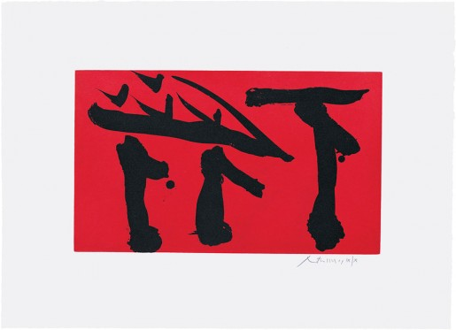 Robert Motherwell, Put out all flags, 1980