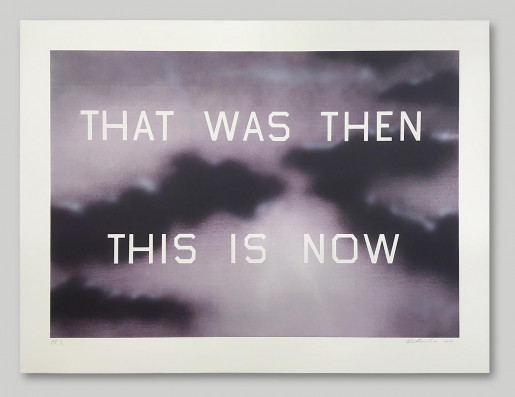 Ed Ruscha, That Was Then This Is Now, 2014