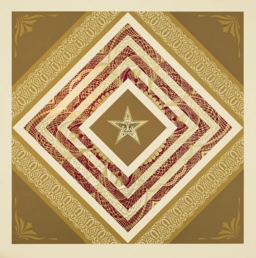 Shepard Fairey, Power and Glory III, 2014