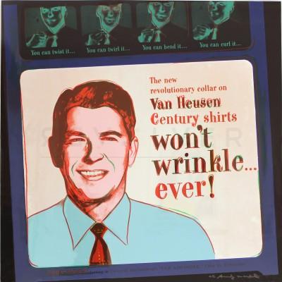 Van Heusen (Ronald Reagan) (FS II.356)  by Andy Warhol