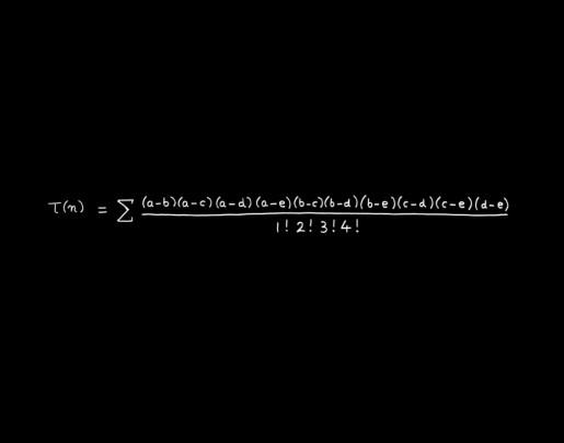 Freeman Dyson, The MacDonald Equation - Concinnitas Portfolio, 2014