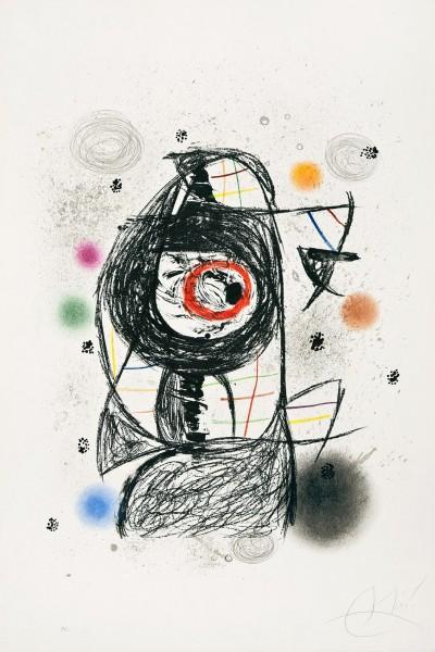 Joan Miró, La Jalouse, 1981