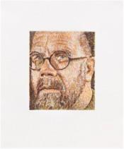 Self Portrait/ Scribble/ Etching