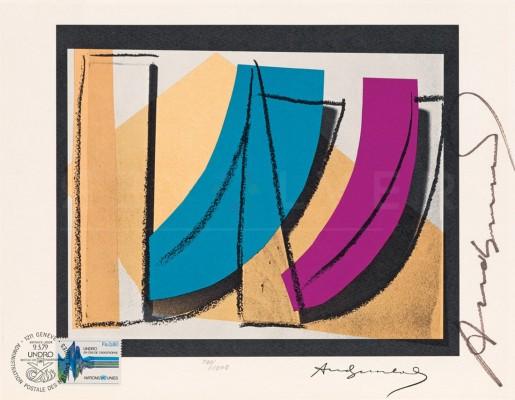 Andy Warhol, U.N. Stamp (FS II.185), 1979