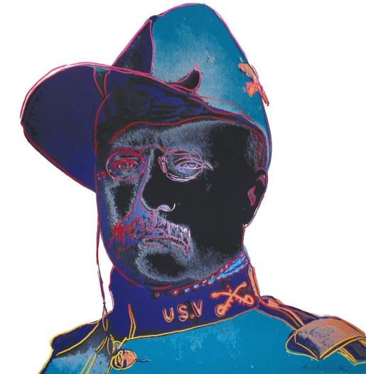 Andy Warhol, Teddy Roosevelt (FS II.386), 1986