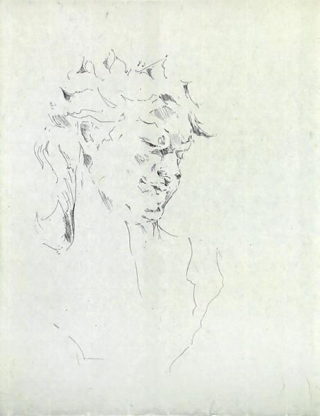 Paul P., Bust de la Bacant II, 2016