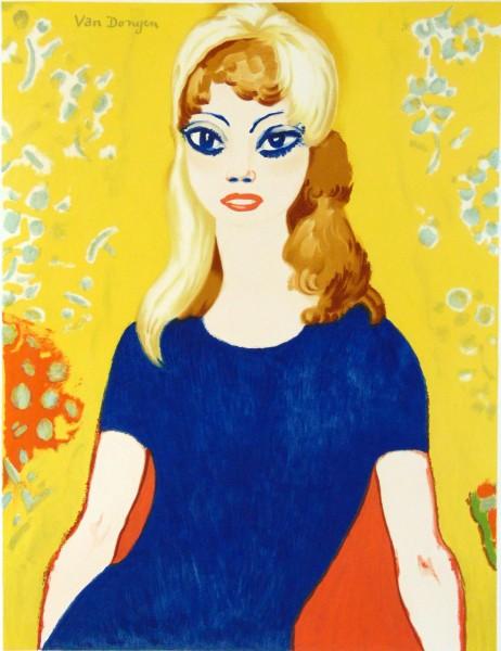 Kees van Dongen, Brigitte Bardot, 1958