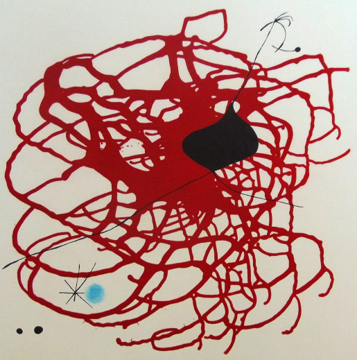Joan Miró, World Heart Month (Beat), 1967