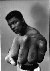 Ali Left Fist, London