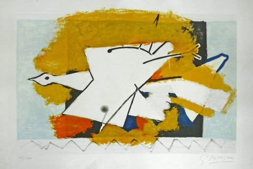 Georges Braque, The Yellow Bird, 1959