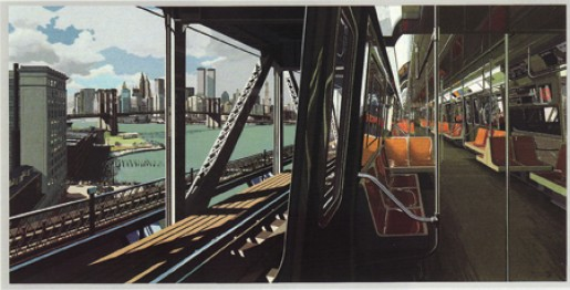 Richard Estes, D-Train, 1988