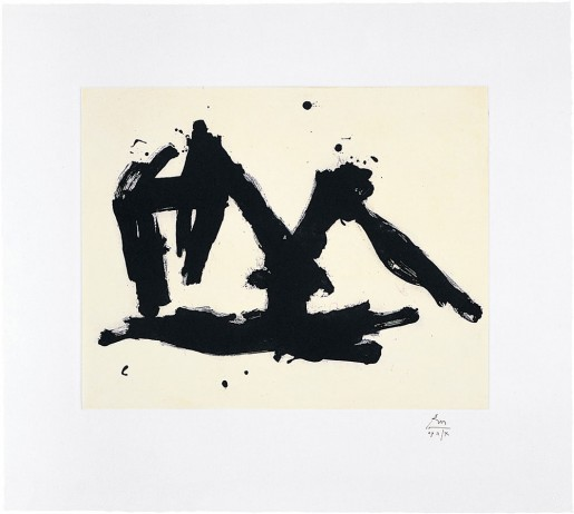 Robert Motherwell, Stephen's Iron Crown Etched, 1982