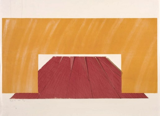 Richard Smith, Edward Gordon Craig I, 1968