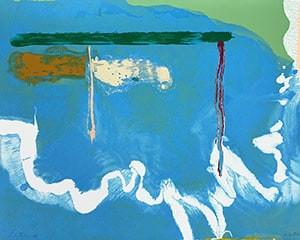 Skywriting by Helen Frankenthaler