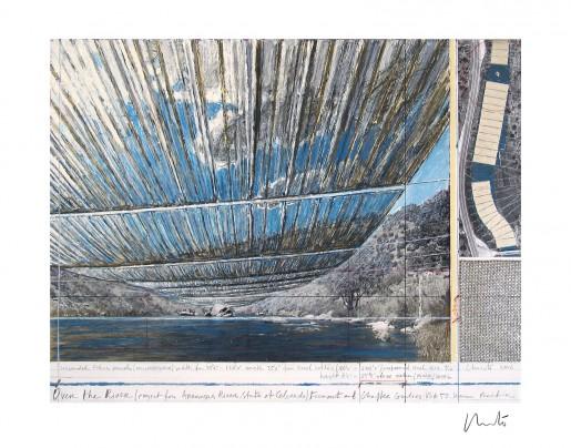 Christo, Over The Arkansas River, Project U, 1992/2017