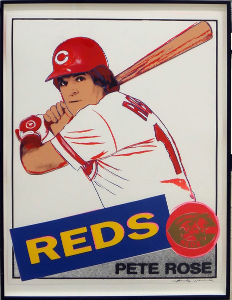 Andy Warhol, Pete Rose (FS II.360B), 1985