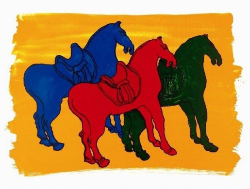 Malcolm Morley, Ancient Chinese Horses, 1998