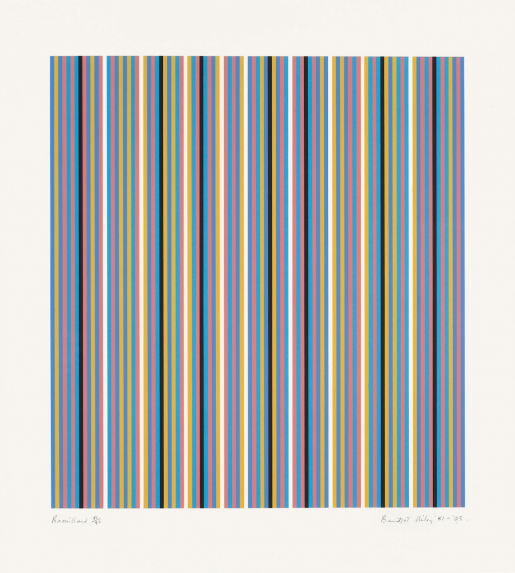 Bridget Riley, Brouillard, 1981-2003