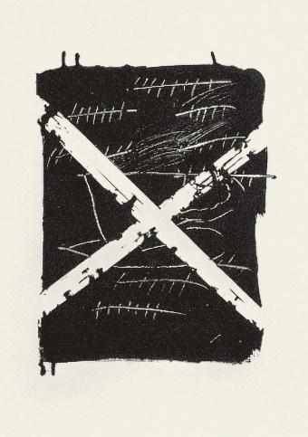 Llambrec 8 by Antoni Tàpies