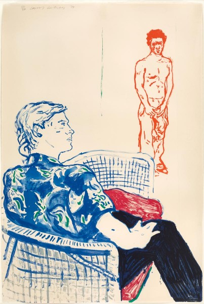 David Hockney, Joe with David Harte, 1979
