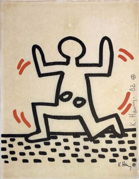 Keith Haring, Bayer Suite #5, 1982