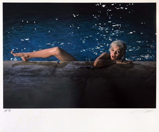 Lawrence Schiller, Marilyn Monroe (small): Color 2 Frame 21, 1962