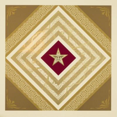 Shepard Fairey-Power and Glory II