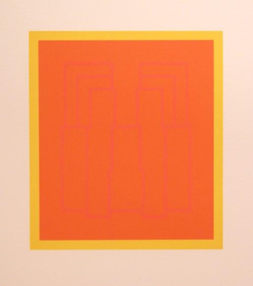 Robyn Denny, Portraits (Series B), I, 1970