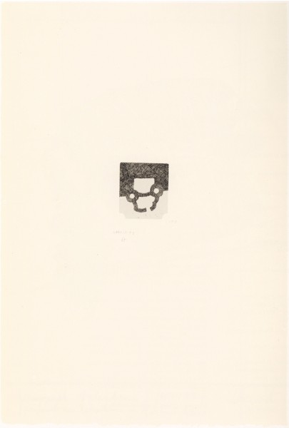 Eduardo Chillida, 12th Anniversary Galeria Joan Prats, 1988