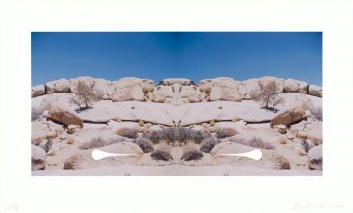 Ed Ruscha, Bow-Tie Teardrop (Bow-Tie Landscapes), 2003