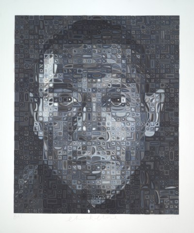 Chuck Close-Zhang Huan II