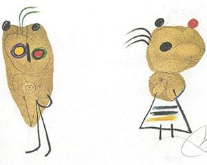 LEnfance dUbu by Joan Miró