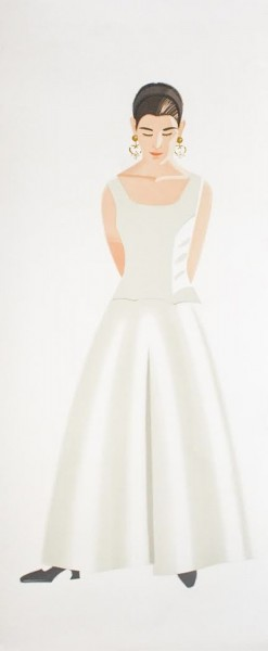 Alex Katz, Wedding Dress, 1993