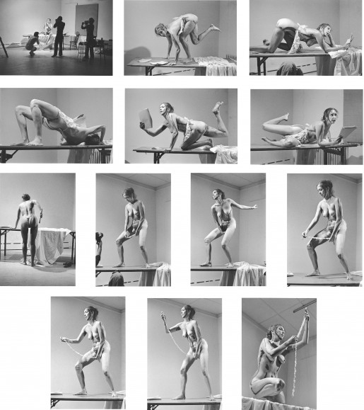 Carolee Schneemann, Interior Scroll, 1975