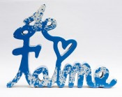 Je t'aime Splash blue