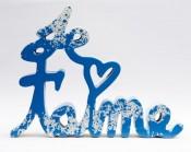 Je t'aime Splash blue