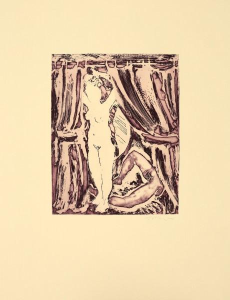 William Tillyer, The Crimson Cubicles, 1974/2018