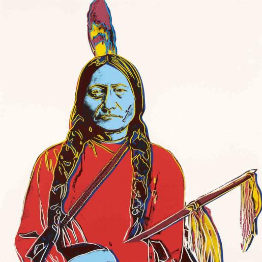 Andy Warhol, Sitting Bull (FS IIIA.70), 1986