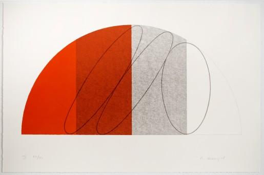 Robert Mangold, Semi-Circle IV, 1995