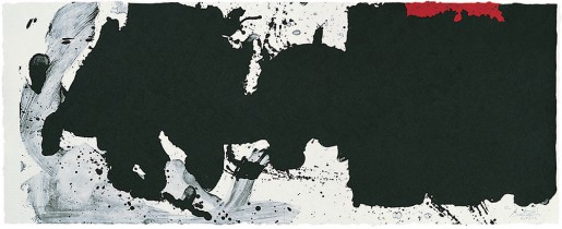 Robert Motherwell, Black with No Way Out, 1983